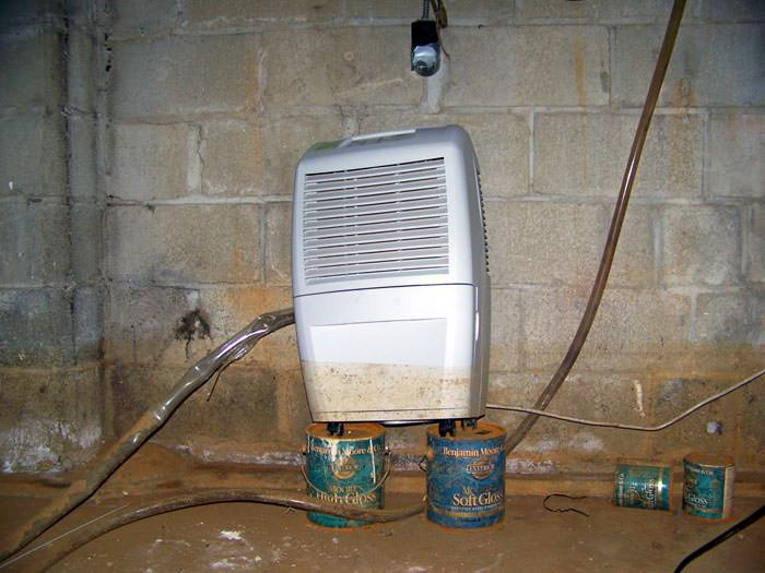 Lovely In Wall Basement Dehumidifier