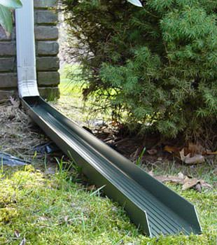 Gutter downspout extension installed in Bensalem